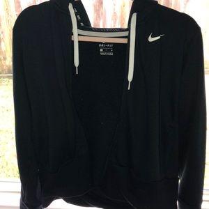 Women Nike jacket dri fit hoodie